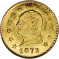 California Fractional Gold: , 1872 25C Washington Round 25 Cents, BG-818, Low R.4, MS65 NGC. TheWashington Head design is seldom seen on the California ...
