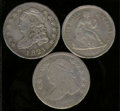 Bust Dimes: , Multiple Coin Lot...