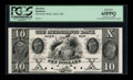 Obsoletes By State:Massachusetts, Salem, MA- The Merchants Bank $10 18__ G94 Proof. ...