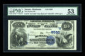 National Bank Notes:Oklahoma, Durant, OK - $10 1882 Value Back Fr. 578 The Durant NB Ch. # (W)5590. ...