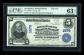 National Bank Notes:Pennsylvania, Lewistown, PA - $5 1902 Plain Back Fr. 599 The Mifflin County NBCh. # (E)1579. ...