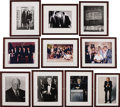 "Movie/TV Memorabilia:Photos, Beverly Hills CENSORED Club Set of Ten Framed Photos. Set of tencolor and b&w 8"" x 10"" photos of CENSORED Club members and ...(Total: 1 Item)"