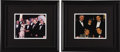 "Movie/TV Memorabilia:Photos, Beverly Hills CENSORED Club George Burns Photos. A pair of 8"" x 10""color photos from the walls of the CENSORED Club one fea... (Total:1 Item)"
