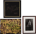 "Movie/TV Memorabilia:Photos, Beverly Hills CENSORED Club Milton Berle Photos. Includes a 16"" x11"" wood plaque decorated with a collage of Berle photos (...(Total: 1 Item)"