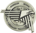Explorers:Space Exploration, Space Shuttle Discovery (STS-33) Unflown Robbins Silver Medallion,Serial Number 135,...