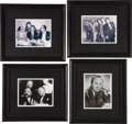 "Movie/TV Memorabilia:Photos, CENSORED Club ""Old Giants"" Framed Photos Set. Set of four b&w8"" x 10"" photos of club members at various functions circa the...(Total: 1 Item)"