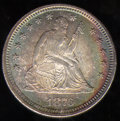 1876-CC Quarter MS 65. Fully struck, the frosted, cartwheel luster is little subdued by the rich tonal qualities that co...