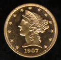 Proof Liberty Half Eagles: , 1907 $5