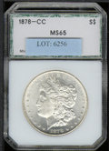 Additional Coins: , 1878-CC Dollar MS 65 PCI. Fully struck and untoned, with only a...