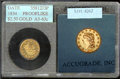 Additional Coins: , 1834 No Motto Quarter Eagle MS 60 Cleaned (MS 63 ACCUGRADE). Th...