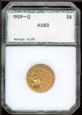 Additional Coins: , 1909-O Half Eagle AU 50 PCI. The first, and only, 20th cent...