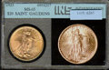 Additional Coins: , 1923 Double Eagle MS 63 (MS 65 INS). Attractive color and luste...