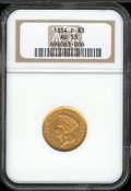 Three Dollar Gold Pieces: , 1854-D $3