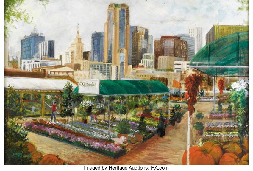At Wednesday Farmers Market I Signed >> Wesley Whitaker Living Farmers Market And Downtown Dallas Oil