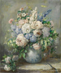 Texas:Early Texas Art - Impressionists, JOHN ORTH (1889-1976). Mother's Day Floral. Oil on canvas.24in. x 20in.. Signed lower right. Titled verso. Provenance...