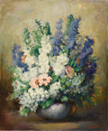 Texas:Early Texas Art - Impressionists, JOHN ORTH (1889-1976). Spring Delight. Oil on canvas. 24in.x 20in.. Signed lower right. Titled verso. Provenance:. Es...