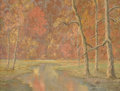 Texas:Early Texas Art - Impressionists, A. B. JEFFERYS (1892-1970). Untitled Fall Landscape, 1933. Oil oncanvas. 18in. x 24in.. Signed and dated lower left. ...
