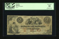 Obsoletes By State:Rhode Island, Providence, RI- Bank of the Republic $2 Oct. 1, 1855