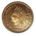 Proof Indian Cents: , 1866 1C, RD