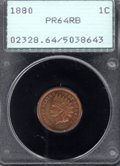 Proof Indian Cents: , 1880 1C, RB