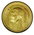 Commemorative Gold: , 1903 G$1 JEFF