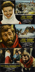 "Movie Posters:Historical Drama, The Lion in Winter (Columbia, 1968). Italian Photobustas (8) (18"" X26""). Historical Drama.... (Total: 8 Items)"