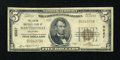 National Bank Notes:Oklahoma, Bartlesville, OK - $5 1929 Ty. 1 The Union NB Ch. # 9567. ...