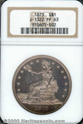 Binder Lots--Three Cent Pieces: , 1873 T$1 J-1322