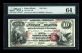 National Bank Notes:Illinois, Paris, IL - $10 1875 Fr. 416 The First NB Ch. # 1555. ...