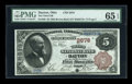 National Bank Notes:Ohio, Dayton, OH - $5 1882 Brown Back Fr. 466 The Third NB Ch. # 2678. ...