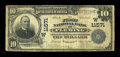 National Bank Notes:Colorado, Fleming, CO - $10 1902 Plain Back Fr. 633 The First NB Ch. #(W)11571. ...
