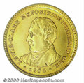 Commemorative Gold: , 1905 G$1 L&C