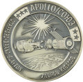 Explorers:Space Exploration, Apollo-Soyuz Unflown Robbins Silver Medallion, Serial Number232,...