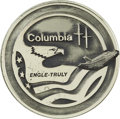Explorers:Space Exploration, Space Shuttle Columbia (STS-2) Unflown Robbins Silver Medallion,Serial Number 192,...
