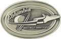 Explorers:Space Exploration, Space Shuttle Columbia (STS-4) Unflown Silver RobbinsMedallion from the Personal Collection of Astronaut Charlie ...