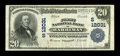 National Bank Notes:Tennessee, Harriman, TN - $20 1902 Plain Back Fr. 660 The First NB Ch. #(S)12031. ...
