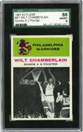 Basketball Cards:Singles (Pre-1970), 1961-62 Fleer Wilt Chamberlain In Action #47 SGC NM-MT 88. At atime when above-the-rim play was much more of an anomaly th...