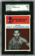 Basketball Cards:Singles (Pre-1970), 1961-62 Fleer Wilt Chamberlain Rookie #8 SGC EX 60. With tremendouscolor retention in the image areas and nice centering a...