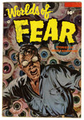 Golden Age (1938-1955):Horror, Worlds of Fear #10 (Fawcett, 1953) Condition: VG....