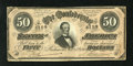 Confederate Notes:1864 Issues, T66 $50 1864. Engraver initials Px are found in the lower left corner. A few tiny edge blemishes are noticed. Very Fine....