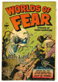 Golden Age (1938-1955):Horror, Worlds of Fear #5 (Fawcett, 1952) Condition: VG/FN....