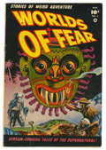 Golden Age (1938-1955):Horror, Worlds of Fear #3 (Fawcett, 1952) Condition: VG+....