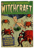 Golden Age (1938-1955):Horror, Witchcraft #3 (Avon, 1952) Condition: VG/FN....