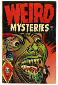 Golden Age (1938-1955):Horror, Weird Mysteries #10 (Gillmor, 1954) Condition: FN+....