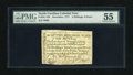 Colonial Notes:North Carolina, North Carolina December, 1771 2s/6d PMG About Uncirculated 55. Thisdenomination comes with two different vignettes, the hou...