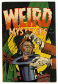 Golden Age (1938-1955):Horror, Weird Mysteries #6 (Gillmor, 1953) Condition: VG/FN....