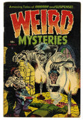 Golden Age (1938-1955):Horror, Weird Mysteries #3 (Gillmor, 1953) Condition: VG+....