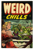 Golden Age (1938-1955):Horror, Weird Chills #3 (Key Publications, 1954) Condition: FN+....
