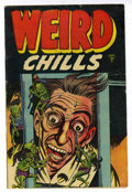 Golden Age (1938-1955):Horror, Weird Chills #2 (Key Publications, 1954) Condition: VG/FN....
