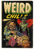 Golden Age (1938-1955):Horror, Weird Chills #1 (Key Publications, 1954) Condition: GD/VG....